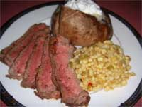 Click here to go to my recipe for Steakhouse Grilled, London Broil