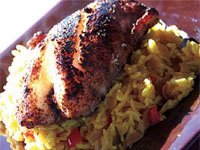 Click here to go to my recipe for Jamaican Jerked, Blackened Grouper