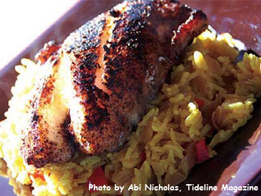 Jamaican Jerked, Blackened Grouper Picture