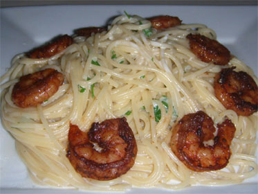 Blackened Shrimp Fettucini Picture