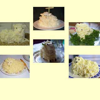 Pictures of some Butter Lambs