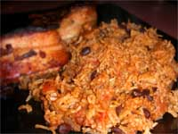 Click here to go to my recipe for Hot and Spicy, Dirty Rice