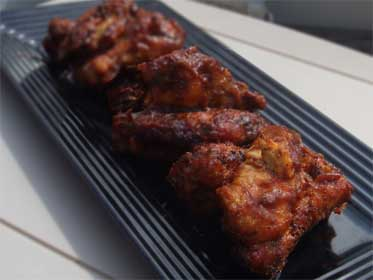 how to cook frozen chicken wings in toaster oven