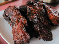 Click here to go to my recipe for Smoked, Country Style, Pork Ribs
