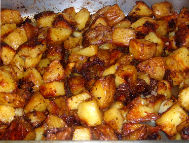garlic roasted oven roasted potatoes with these roasted potatoes ...