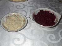 Horseradish and Beets Picture