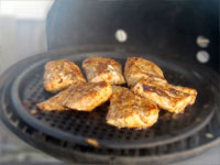 Picture of a Grilling Mahi Mahi