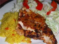 Click here to go to my recipe for Backened Mahi Mahi