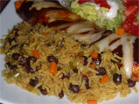 Click here to go to my recipe for Southwest Style, Rice with Beans