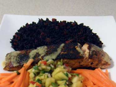 Blackened Salmon Picture