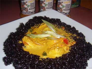 Black, Citrus Rice, Picture