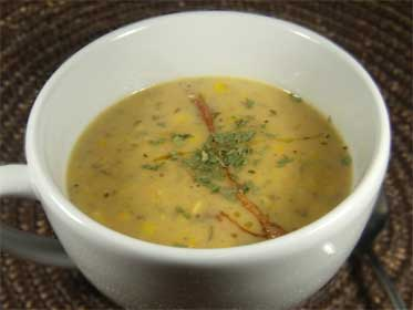 Smoked Ham and Corn Chowder Picture
